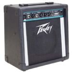 Peavey Solo Battery or Mains Powered 15W Vocal + Guitar Combo Amp Speaker + Lead